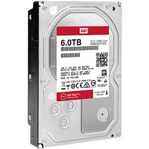 Desktop-Festplatte, 6 TB, WD Red Pro WESTERN DIGITAL WD6002FFWX