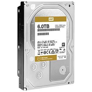 WD Gold 3.5-inch data centre HDD with 6TB capacity WESTERN DIGITAL WD6002FRYZ