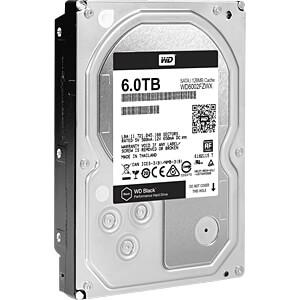 6TB Festplatte WD Black - Desktop WESTERN DIGITAL WD6002FZWX