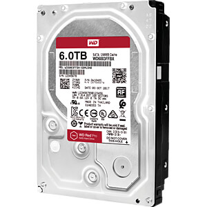 6TB Festplatte WD RED PRO - NAS WESTERN DIGITAL WD6003FFBX