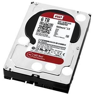 WD Red 3,5-Zoll-NAS-Festplatte mit 6 TB WESTERN DIGITAL WD60EFRX