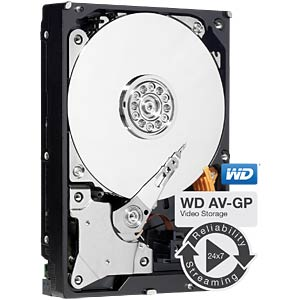 3TB Festplatte WD AV - Video WESTERN DIGITAL WD30EURX