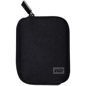 Case for 6.35 cm (2.5″) hard drives - Black WESTERN DIGITAL WDBABK0000NBK-ERSN