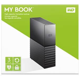 WD My Book 3TB Desktop-Festplatte WESTERN DIGITAL WDBBGB0030HBK-EESN