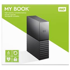 WD My Book 6TB, USB 3.0 WESTERN DIGITAL WDBBGB0060HBK-EESN