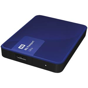 WD My Passport Ultra 2 TB blue WESTERN DIGITAL WDBBKD0020BBL