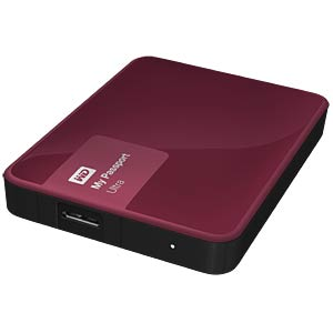 WD My Passport Ultra 3 TB rot WESTERN DIGITAL WDBBKD0030BBY