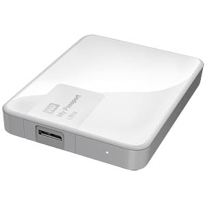 WD My Passport Ultra 3 TB weiß WESTERN DIGITAL WDBBKD0030BWT