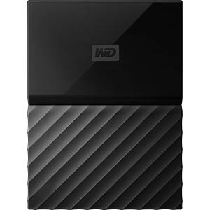 Externes 1TB-Laufwerk WD My Passport for Mac WESTERN DIGITAL WDBFKF0010BBK-WESN