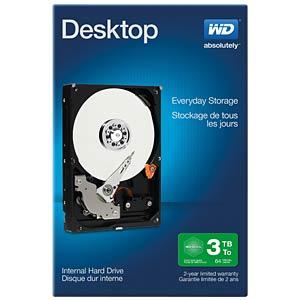 3TB Festplatte WD Desktop Retail WESTERN DIGITAL WDBH2D0030HNC-ERSN