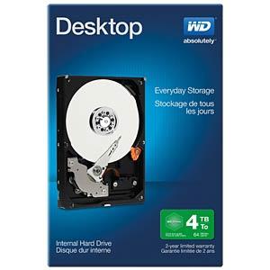4TB Festplatte WD Desktop Retail WESTERN DIGITAL WDBH2D0040HNC-ERSN