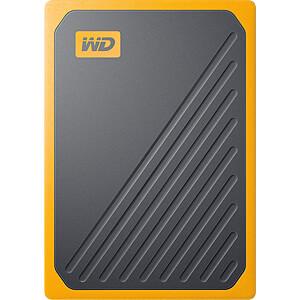 WD My Passport Go gelb 1TB, USB 3.0 WESTERN DIGITAL WDBMCG0010BYT-WESN