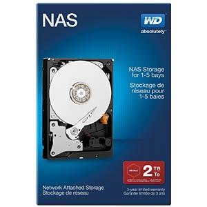 2TB Festplatte WD NAS-HDD - NAS Retail WESTERN DIGITAL WDBMMA0020HNC-ERSN
