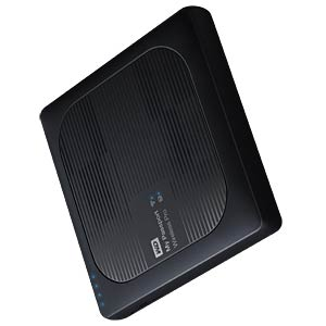 WD My Passport Wireless Pro 2 TB WESTERN DIGITAL WDBP2P0020BBK-EESN