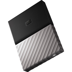 WD My Passport Ultra 1TB schwarz WESTERN DIGITAL WDBTLG0010BGY-WESN