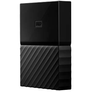 WD 3TB My Passport Portable Hard Drive black WESTERN DIGITAL WDBYFT0030BBK-WESN