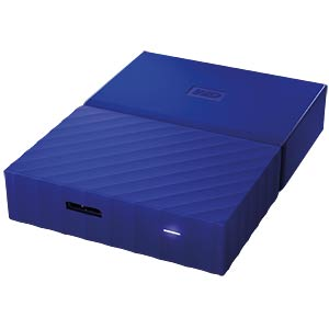 WD My Passport 2TB blau WESTERN DIGITAL WDBYFT0020BBL