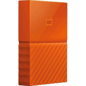 WD My Passport 2TB orange WESTERN DIGITAL WDBYFT0020BOR-WESN