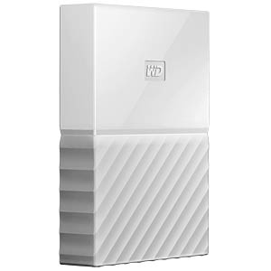 WD 3TB My Passport Portable Hard Drive white WESTERN DIGITAL WDBYFT0030BWT-WESN