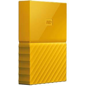 WD My Passport 2TB gelb WESTERN DIGITAL WDBYFT0020BYL-WESN