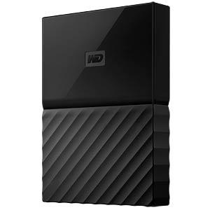 Externe 1TB Festplatte My Passport schwarz WESTERN DIGITAL WDBYNN0010BBK-WESN