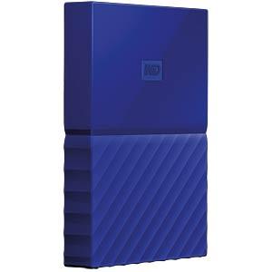 Externes 1TB-Laufwerk WD My Passport blau WESTERN DIGITAL WDBYNN0010BBL-WESN