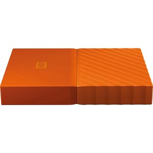 WD My Passport 2TB orange WESTERN DIGITAL WDBS4B0020BOR