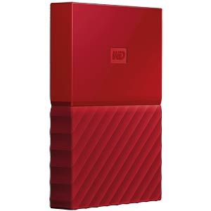 WD My Passport 2TB rot WESTERN DIGITAL WDBS4B0020BRD