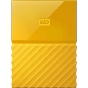 WD My Passport 2TB gelb WESTERN DIGITAL WDBS4B0020BYL