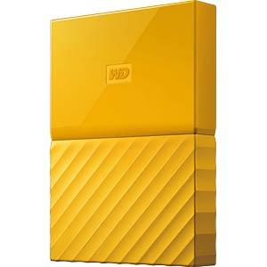 Externes 1TB-Laufwerk WD My Passport gelb WESTERN DIGITAL WDBYNN0010BYL-WESN