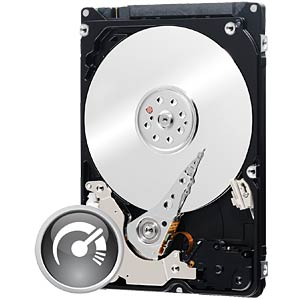 Notebook hard drive, 750 GB, WD Black WESTERN DIGITAL WD7500BPKX