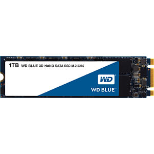 WD Blue 3D SSD M.2 1TB SATA WESTERN DIGITAL WDS100T2B0B