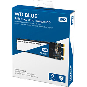 WD Blue 3D SSD M.2 2TB SATA WESTERN DIGITAL WDS200T2B0B