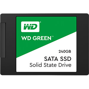 WD Green 240 GB interne 2,5-Zoll-SSD WESTERN DIGITAL WDS240G1G0A