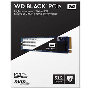 WD Black SSD M.2 512GB PCIe WESTERN DIGITAL WDS512G1X0C