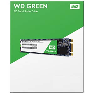 WD Green M.2 120 GB interne SSD WESTERN DIGITAL WDS120G1G0B