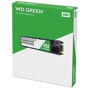 WD Green M.2 240 GB interne SSD WESTERN DIGITAL WDS240G1G0B