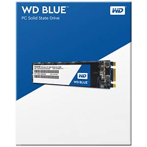 WD Blue M.2 500 GB interne SSD WESTERN DIGITAL WDS500G1B0B