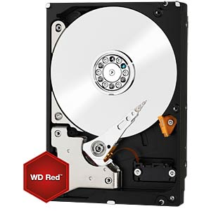 Desktop hard drive, 6 TB, WD Red WESTERN DIGITAL WD60EFRX