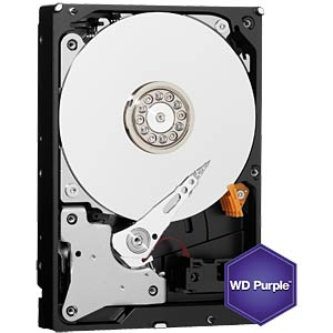 Desktop hard drive, 1 TB, WD Purple WESTERN DIGITAL WD10PURX