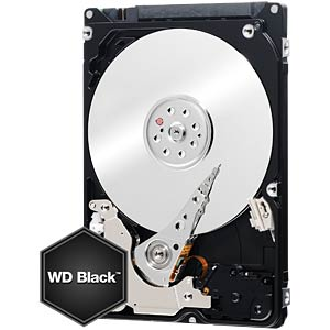 Notebook-Festplatte, 250 GB, WD Black WESTERN DIGITAL WD2500LPLX