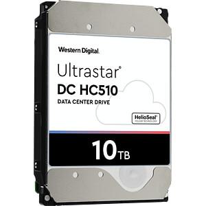 10TB Festplatte WD Ultrastar DC HC510 WESTERN DIGITAL 0F27606