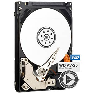 Notebook hard drive, 1 TB, WD AV WESTERN DIGITAL WD10JUCT