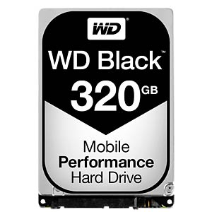 2,5 HDD 320GB WD Black WESTERN DIGITAL WD3200LPLX