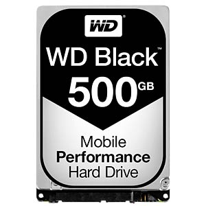2,5 HDD 500GB WD Black WESTERN DIGITAL WD5000LPLX