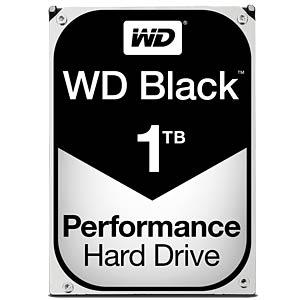 Desktop hard drive, 1TB, WDBlack WESTERN DIGITAL WD1003FZEX