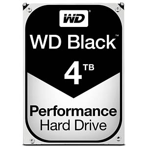 WD Black 3.5 PC hard disk with 4 TB WESTERN DIGITAL WD4004FZWX