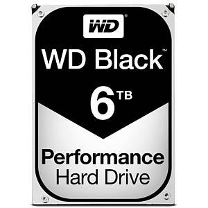 WD Black 3,5-Zoll-PC-Festplatte mit 6 TB WESTERN DIGITAL WD6001FZWX