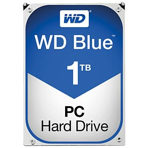 Desktop hard drive, 1 TB, WD Blue WESTERN DIGITAL WD10EZEX