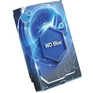"WD Blue 3.5"" PC hard drive with 4 TB WESTERN DIGITAL WD40EZRZ"